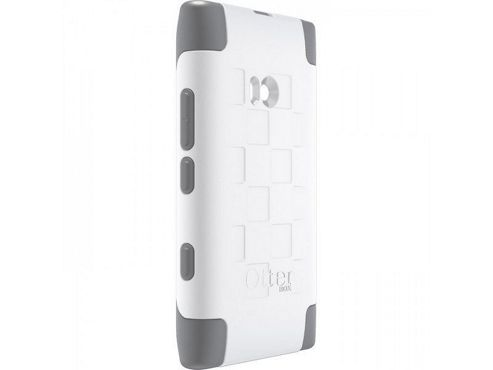 OTTERBOX COMMUTER SERIES, NOKIA LUMIA 900 WHITE / GREY