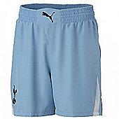 2010-11 Tottenham Away Puma Football Shorts (Kids) - Blue