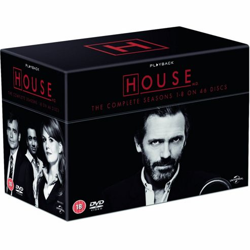House - Series 1-8 - Complete (DVD Boxset)