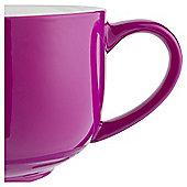 Tesco Bright Pink Large Cappucino Mug, Single