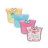 B Baby's Fairyland Bibs - 4 Pack