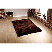 Oriental Carpets & Rugs Sable Brown Tufted Rug - 170cm L x 120cm W