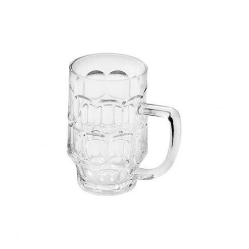 Epicurean Single Acrylic Dimple Beer Mug, 700ml