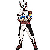 Child Deluxe Clone Trooper Costume (Brown) Large