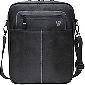 "V7 Cityline CMX3-9E Carrying Case (Messenger) for 25.7 cm (10.1"") iPad, iPad Air, Tablet, Smartphone - Black"
