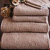 Homescapes Turkish Cotton Stone Bath Towel Set