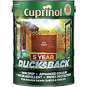 Cuprinol 5 Year Ducksback - Rich Cedar- 5L