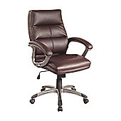 Enduro Greenwich High-Back Executive Chair - Burgundy