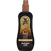 Australian Gold Spray Gel with Bronzer 237ml SPF10