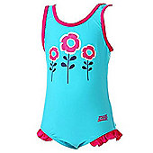 Zoggs Girl's 'Corlette' Scoopback Swimsuit - Pink