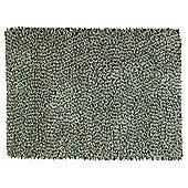 Multi Bean Rug 80 x 150, Blue