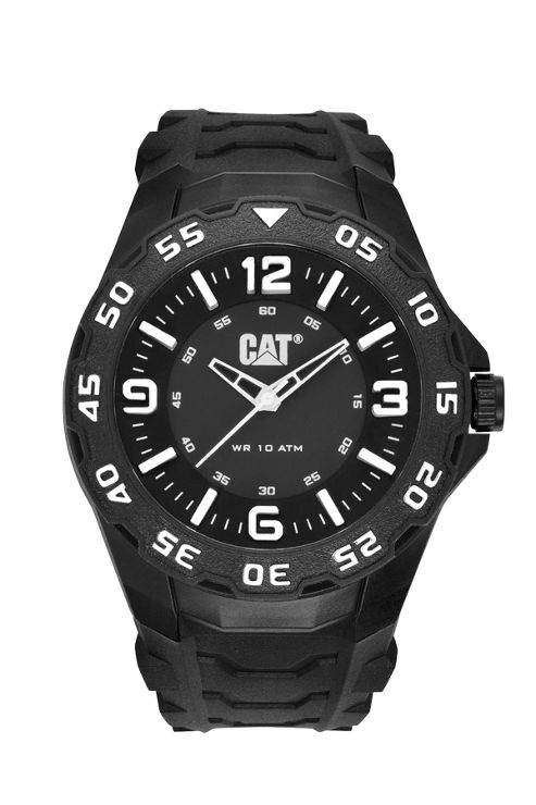 CAT Motion Mens Rubber Seconds Watch LB.111.21.132