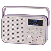 Tesco DR1404 Better DAB Radio Purple