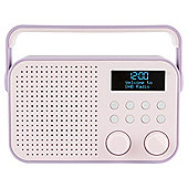 Tesco DR1404P DAB Radio Purple