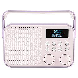 Tesco DR1404P DAB Radio Purple