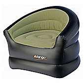 Vango Lightweight Inflatable Single Chair Green/Black