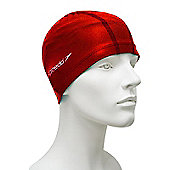 Speedo Pace Senior Lycra Swimming Cap - Red