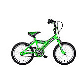 "Sonic Robonotic 16"" Boys Junior Bicycle"