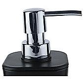 Tesco Basic Plastic Soap Dispenser Black