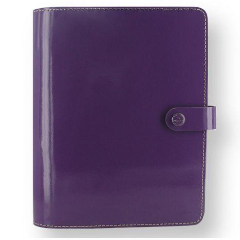 Filofax A5 The Original Patent Purple Organiser