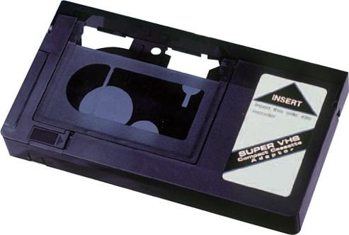 Motorised VHS-C Cassette Adaptor