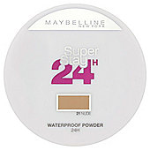 Maybelline Foundation Super Stay 24hr Powder 021 Nude
