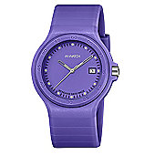 M-Watch Maxi Colour Unisex Resin Day & Date Watch A661.30615.38.01