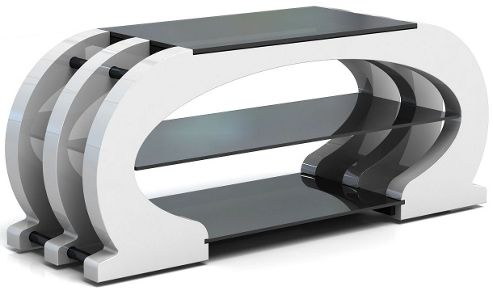 Gecko OMEGA-OME1200-GW TV Stand