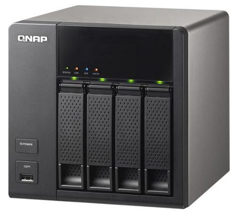 QNAP Systems, Inc TS-412 Turbo All-in-One NAS Server