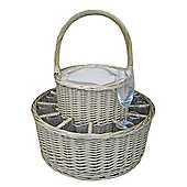 Wicker Valley Chilled Garden Party Basket