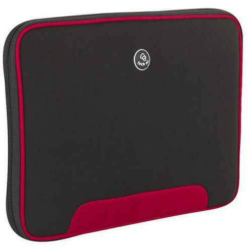 Techair Z Series Z0305 Clam Styled Slipcase (Black/Red) for 10 inch to 11.6 inch Netbook