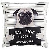 Novelty Bad Dog Cushion