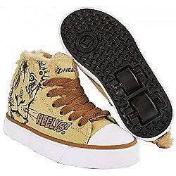 Heelys Zoo Series Lion Kids Heely X2 Shoe - UK 1