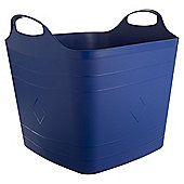 40L Square Stackable Flexitub - Blue