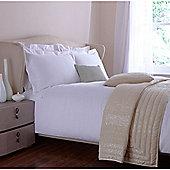 Casa Couture Kensington Oxford Pillowcase Pair In White