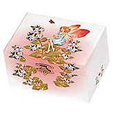 Floral Fairy Musical Jewellery Box