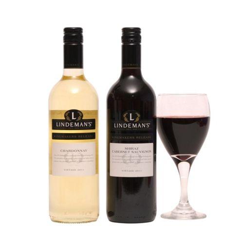 Two Bottles Australian Wine