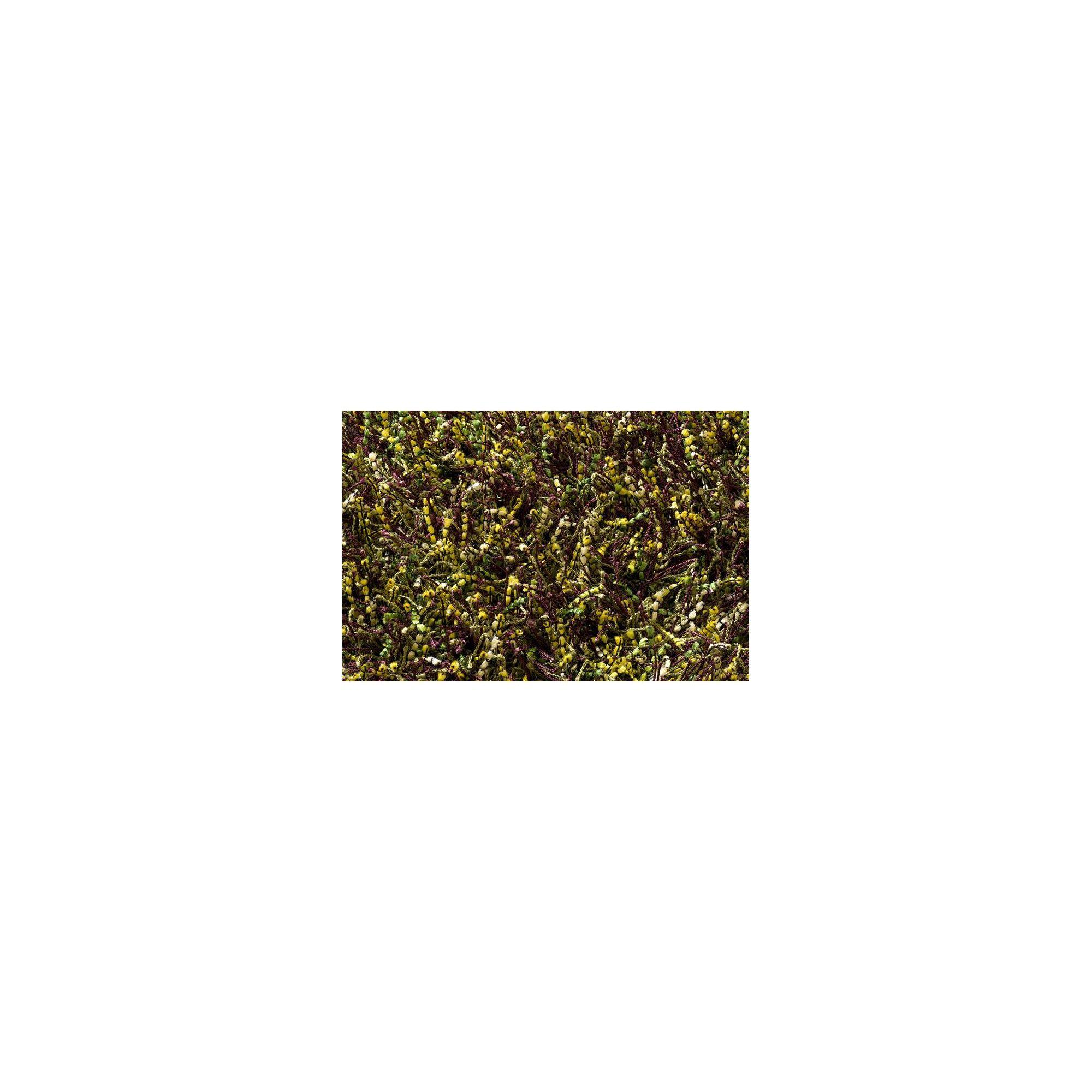 Linie Design Sprinkle Lime Shag Rug - 300cm x 200cm at Tesco Direct