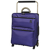 IT Luggage World's Lightest 2-Wheel Small Orient Blue Suitcase