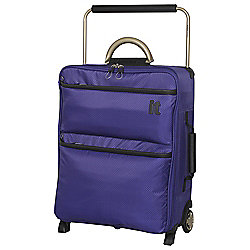 IT Luggage World's Lightest 2-Wheel Suitcase, Orient Blue Small