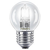 Philips EcoClassic Dimmable Halogen Luster Light Bulb (28W E27 P45)