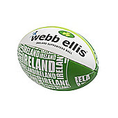 Webb Ellis Ireland Supporters Ball size 5
