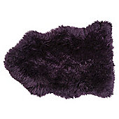 Genuine Sheepskin Double, Plum