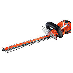 BLACK+DECKER 18V Cordless 2.0ah Li-Ion Hedge Trimmer