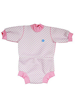 Splash About Baby Mini Wetsuit - Pink Gingham - Pink