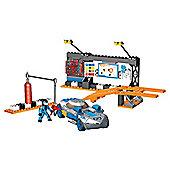 Megabloks Hot Wheels Racer Pitstop