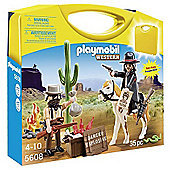 PLAYMOBIL Carrying Case Western Cowboys - 5608