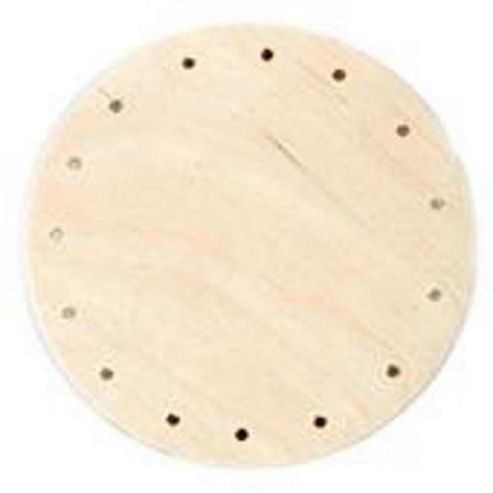 Wooden Base 4R 100 mm diameter Round
