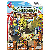 Shreks Carnival Craze - Party Games - NintendoWii