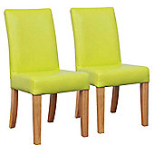 Shankar Bambi Kids Dining Chairs in Green